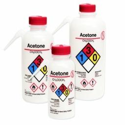 Nalgene 174 2436 0501 Unitary Vented Wash Bottle For Acetone