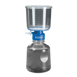 Nalgene® 166-0045 Rapid-Flow™ Sterile Filter Unit with 75mm PES Membrane, 0.45µm, 500mL Funnel with