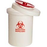 Biohazard Waste Disposal Containers