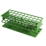 Nalgene® 5970-0425 Unwire™ Test Tube Rack for 25mm Tubes, 40-Well, Green ResMer™ Acetal Plastic, Thermo Scientific