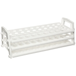 Nalgene® 5930-0030 Test Tube Rack for 25 to 30mm Tubes, 24-Well, White PP, Thermo Scientific