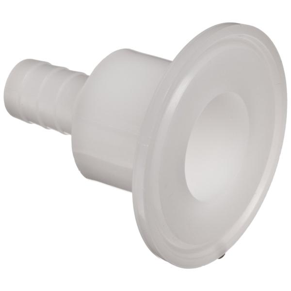 Nalgene® 7211-0500 TriClamp Hose Barb Sanitary Adapter