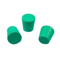 CapitolBrand® Solid Green Neoprene Stoppers