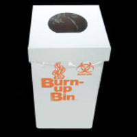 Globe Scientific Burn-Up™ Bin Biohazard Waste Boxes