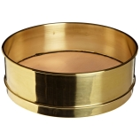 Advantech 400BB8F ASTM Brass 8-Inch Full Height Test Sieve with Brass Wire Mesh Size: #400, ASTM E 11 Certified