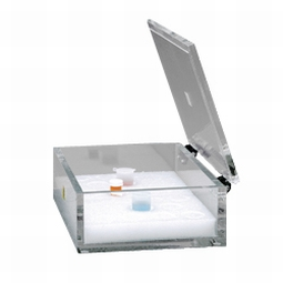 Dynalon 172634 Beta Block Desktop Storage Box With Hinged Lid