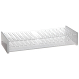 Dynalon® 159565-4 Two-Tier 90-Place Blood Bank Sample Tube Rack, Acrylic