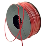 Dynalon® 626814 Sample Bag Twist Tie Closure Wire, Cut to Size, Red, LDPE Coated (4000-Foot Spool)