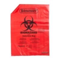 Scienceware® Red Biohazard Bags