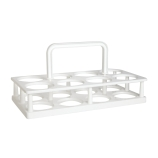 Bel-Art 169680000 BOD Bottle Rack Carrier, 8 x 300mL, Polypropylene