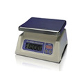 A&D Weighing® SK-1000WP Washdown Digital Scale With 9.1 x 7.5 Inch Weighing Pan, 1000g (2.2 lb) x 0.5g (0.001lb)