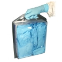 TechNiGlove® TNT1200 TechNitrile Blue Nitrile Cleanroom Gloves in TechniTote Dispenser, 12-Inch