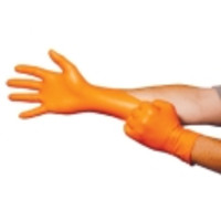 Ansell® Microflex® Blaze® N48 Orange Nitrile Exam Gloves, Powder-Free