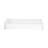 Dynalon® 159505-01 Two-Tier 15-Well Test Tube Rack for 10mm Tubes, Clear Acrylic