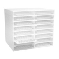 Dynalon Lab Sample Cup Storage Rack Cabinet