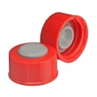 Wheaton® I-Loc™ Diagnostic Bottle Screw Caps with Bromobutyl Stopper
