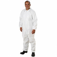 Ansell® Edge™ 67-200 White Microporous Laminate Coveralls