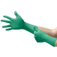 Ansell® TouchNTuff® 92-605 Green Nitrile Exam Gloves with Extended Cuff