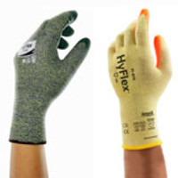 Ansell® HyFlex® 11-511 & 11-515 Kevlar® Knit Gloves with Nitrile Coating & Stainless Steel Liner