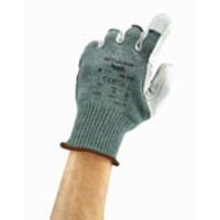 Ansell® ActivArmr® 70-765 Kevlar® String Knit Gloves with Leather Palms