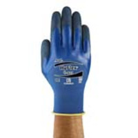 Ansell® HyFlex® 11-925 Oil Repellent Knit Gloves with 3/4 Nitrile Coating