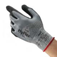 Ansell® HyFlex® 11-927 Oil & Cut Resistant Knit Gloves with Nitrile Coating