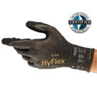 Ansell® HyFlex® 11-931 Oil & Cut Resistant Knit Gloves with Nitrile Foam Palm Coating