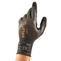Ansell® HyFlex® 11-937 Oil & Cut Resistant Knit Gloves with 3/4 Nitrile Foam Coating