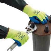 Ansell® ActivArmr® 80-400 Hi-Viz™ Thermal Insulation Gloves with Latex Coating