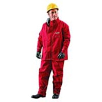 Ansell® AlphaTec® 66-660 Chemical Resistant Jackets, Red Polyester