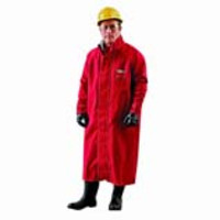 Ansell® AlphaTec® 66-663 Chemical Resistant Coats, Red Polyester
