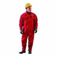 Ansell® AlphaTec® 66-667 Chemical Resistant Coveralls, Red Polyester
