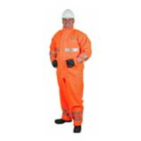 Ansell® AlphaTec® HI-VIZ™ 66-687 Chemical Resistant Coveralls