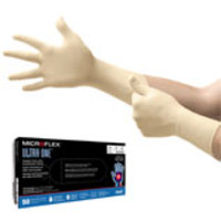 Ansell® Microflex® Ultra One® UL-315 Latex Exam Gloves with Extended Cuff