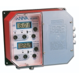 HANNA HI9935-1 Industrial Grade Wall-Mounted pH & TDS Controller with Proportional Control of Fertilization, pH Range: pH 0.00 to 14.00, TDS Range: 0 to 1999ppm, Electrical: 115V