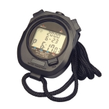 H-B Instrument 540 DURAC® Digital Stopwatch, with Split and Lap Time Measurement, Water Resistant, Plastic Construction, 2.5 x 3.3-Inch, DKD & NIST Traceable