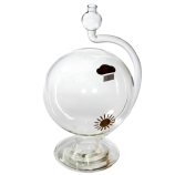 H-B Instrument 805 DURAC® Weather Ball Barometer, Glass, Diameter 6-Inch