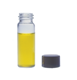 Kimble 174 60957d 11 Clear 11 Dram Clear Glass Sample Vial