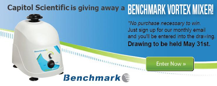 BenchMark Vortex Mixer Give Away