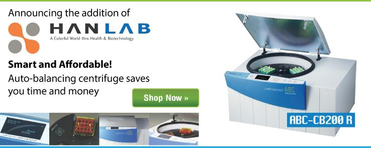 New Product - HanLab Centrifuge