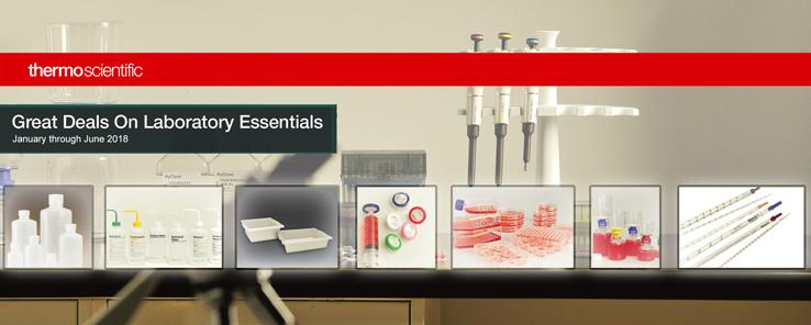 Thermo Fisher Scientific Lab Essentials Nalgene-Nunc Promo Page