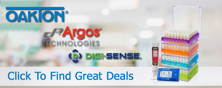 Oakton Digi-sense and Argos Lab Supplies